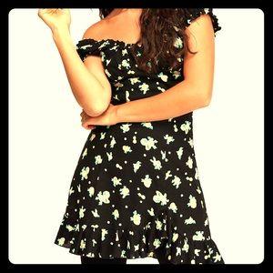 Free People Like A Lady Mini Dress
